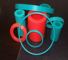 Semi-finished Cast Hydraulysis Resistant Polyurethane Elastomer Tube
